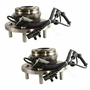 Pair - Front Wheel Bearing Hub Assembly Set For 08-11 Grand Caravan Town&Country