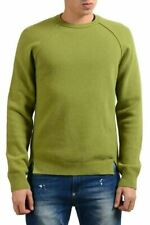 Dsquared2 Men's Wool Green Crewneck Sweater US M IT 50