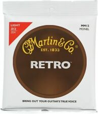 Martin MM12 Retro Acoustic Guitar Strings - 0.012