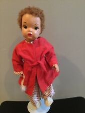 Doll Terri Lee Jerri Lee Painted Plastic Patent Pending PJs and Robe