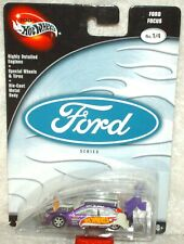 Hot Wheels 2003 Preferred Ford Series Ford Focus purple/white RR's Ex.card