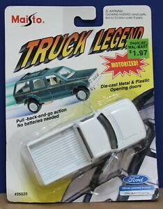 Maisto 25020 Truck Legend O 1:43 Ford F-150 Pickup G9 White MOC 1994