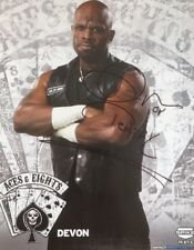 Devon Dudley Signed Picture Wwe Wwf Tna Impact Aces & Eights 8x10 Autograph