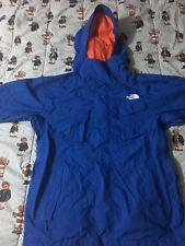 Blue/Orange Noth Face Heavy Coat/Jacket Knicks Colors Winter Wheather Resistant