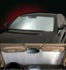 SILVER Sun Shade for windshield - CUSTOM Precision Cut - Toyota