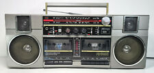 Fisher PH-W407L 4 Band Stereo Radio DoubleCassete Recorder Made in Japan Boombox