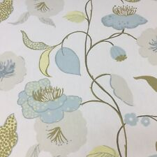 Fragrance Azure Cotton Fabric by Prestigious Textiles