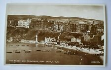 More details for postcard port erin beach & promenade isle of man unposted valentines photo rp