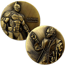 Avengers Batman Joker Bronze Commemorative Coin Collection Lucky Medallion