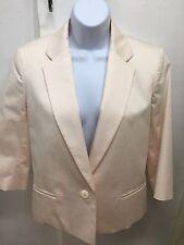 Farhi Blush Pink Cotton Jacket NEW UK 12