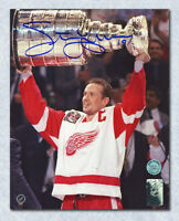 Steve Yzerman Detroit Red Wings Autographed 1997 Stanley Cup 16x20 Photo