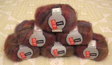 Muench Furrari 4410 Self Striping Mohair Yarn -- 6 Skeins + Free Gift!