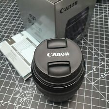 MINT! Canon EF 85mm F/1.8 USM Camera Lens - with original box and papers