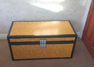 Mine craft Style double Chest  Childrens Toy Box