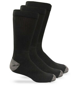 Carolina Ultimate Mens Big & Tall Cushion Sport Work Boot Crew Socks 3 Pair Pack