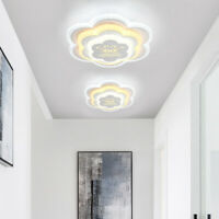 24W Led Ceiling Light Warm White Acrylic Living Room Bedroom Lighting Fixtures