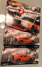 HOT WHEELS : LOT OF (2) JAPAN 2 HISTORICS MAZDA RX-3 JDM REAL RIDERS 2/5 BNIP
