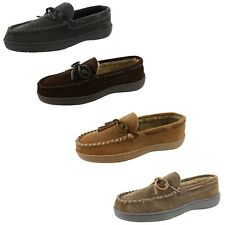 CLARKS MEN RUDY MOCCASIN WINTER SLIPPERS