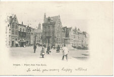 PC18553 Bruges. Place Jean Van Eyck. 1904