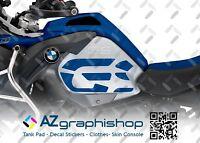KIT X2 ADESIVI LATERALI GS PER MOTO BMW R 1200 GS ADV 2014-2018 ST-GS-R1200ADVRB
