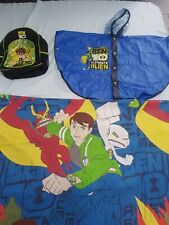 Ben 10 Bundle Backpack, Rain Poncho duvet quilt cover school.