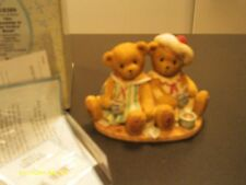 Cherished Teddies ~ Marnie & Rissa - drinking coffee - the perfect blend