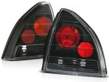 Black clear finish tail rear lights for Honda Prelude 92-97