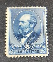 us stamps scott 216 MH OG Small Thin Good Center Vibrant