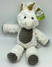 Spark Create Imagine Plush Unicorn for Baby -Rattle Sound-Crinkle Ears-NEW- 14""