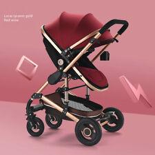 Baby Stroller Newborn Carriage Infant Safe Foldable Adjustable Pram Pushchair d