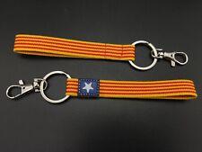 Schlüsselanhänger Estelada Fahne Elastische 17x1, 5cm Unabhängigkeit Catalonia