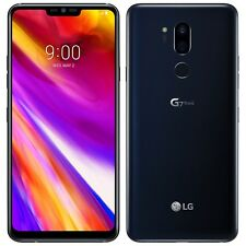 New LG G7 ThinQ 64GB G710EM Aurora Black Android Factory Unlocked 4G/LTE Simfree