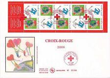 Enveloppe grand format 1er jour 2006 Croix Rouge Jouons ensemble