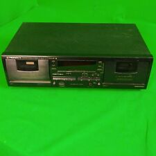 New listing Pioneer Vintage Stereo Double Cassette Deck Model Ct-W404R