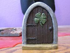 Celtic Fairy door, Fairy door, mouse door, Gnome door, Shamrock