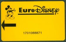 PASSEPORT EURO DISNEY PARIS  PASS TRES  BON ETAT  N°39