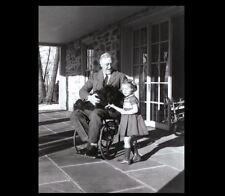 President Franklin Roosevelt Wheelchair Dog PHOTO,1941 FDR Great Depression Prez