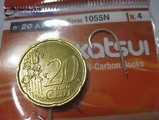 1 CONFEZIONE DA 20 AMI KATSUI SERIE 1055N n.4 PESCA -MU119