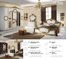6PSC ITALIAN BEDROOM SET FURNITURE