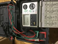 MEGGER LOOP TESTER LT320 BOXED WITH WIRES CABLES