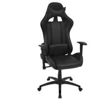 Sedia Gaming Pro nera, Sedia Ufficio ergonomica, schienale e altezza regolabile!