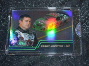 2003 ETOPPS NASCAR DRIVERS BOBBY LABONTE # 18 CARD