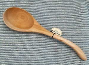 Jonathan's Wild Cherry Spoons Hand Carved Ladle Handcrafted Treenware Utensil