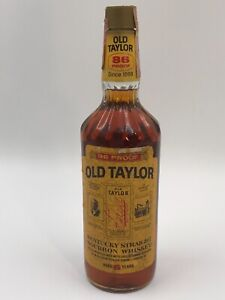WHISKY OLD TAYLOR 6 YEARS KENTUCKY STRAIGHT BOURBON WHISKEY 86 proof 75cl.