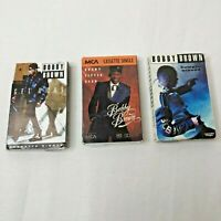 Bobby Brown Cassette Singles Lot Of 3 Untested