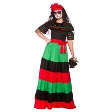Déguisements robes taille S/M pour femme multicolore
