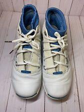 7d82cab1faa584 Air Jordan XVII 17 Low White Univ Blue Black Chrome Size 11 2002