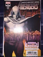 Avengers #33 1st Printing Cover A Marvel 2019 Moon Knight Age of Khonshu NM