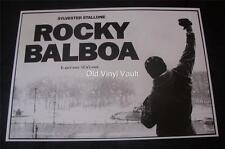 Rocky Balboa A3 film poster print