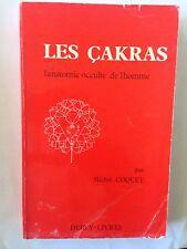 LES CAKRAS 1989 ANATOMIE OCCULTE HOMME MICHEL COQUET CHAKRAS